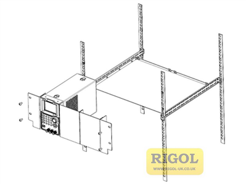 Rigol RM-1-DP700 Rack Mount Kit (for 1-off PSU)