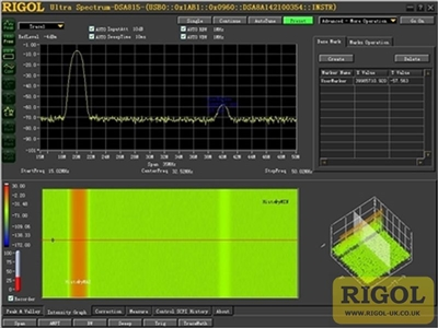 Rigol Ultra Spectrum PC Software Licence