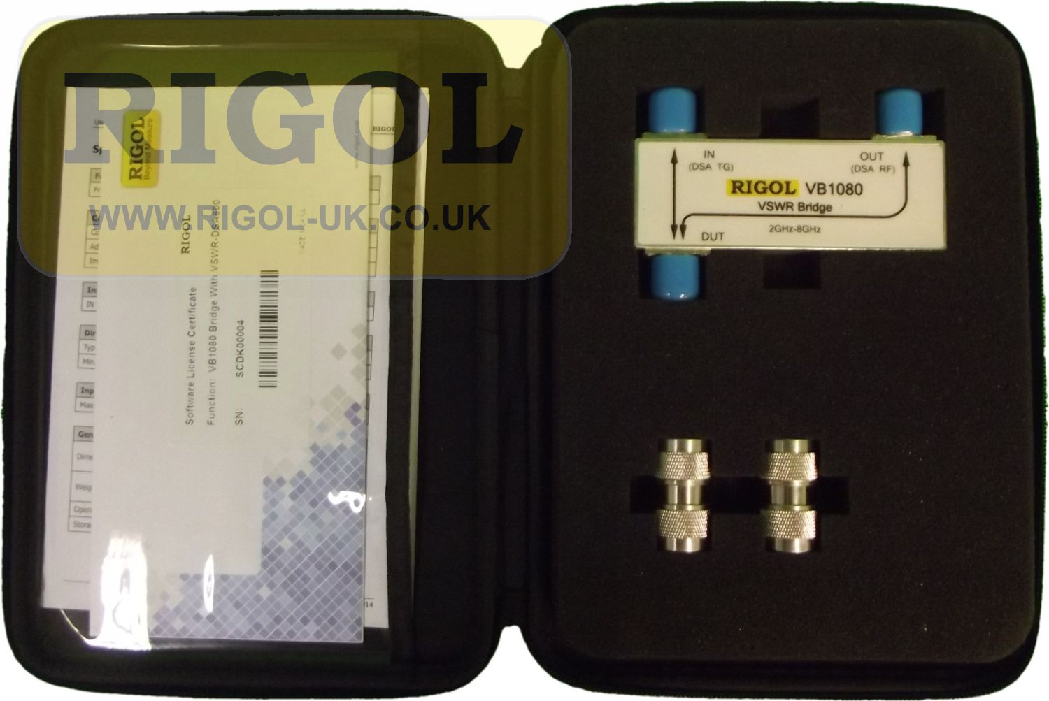 Rigol VB1080 2GHz to 8GHz VSWR Bridge