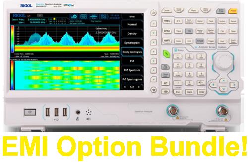 Rigol RSA3000E Series Real-Time Spectrum Analysers