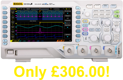 Rigol DS1054Z The BEST Selling Oscilloscope
