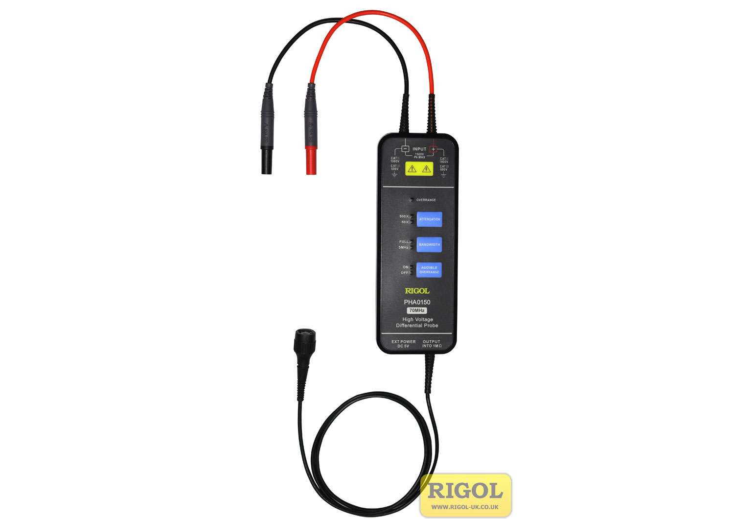 Rigol PHA0150 High Voltage Differential Probe