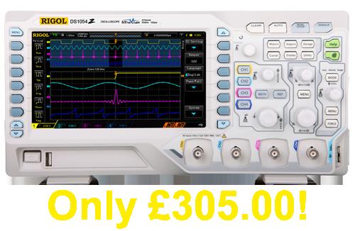 Rigol DS1054Z The BEST Selling Oscilloscope